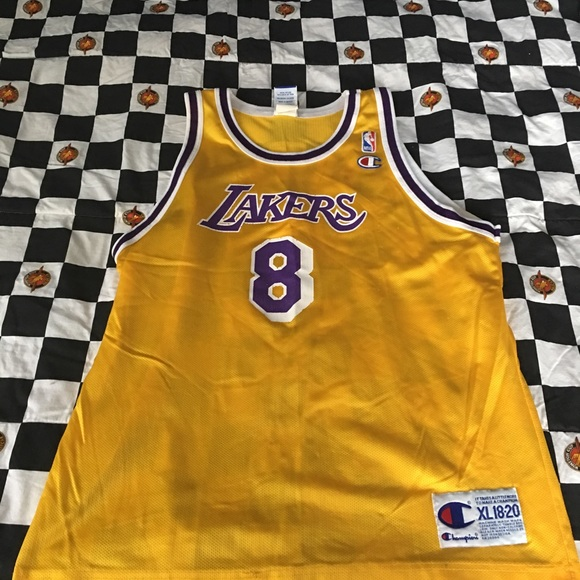 Champion Other | Rookie Kobe Bryant La Lakers Jersey Youth Xl ...